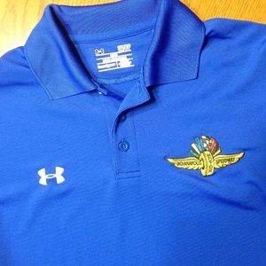 Under Armour Indy 500 Speedway Polo Men's NWOT